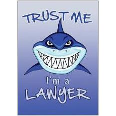 Trust Lawyer Fridge Magnet