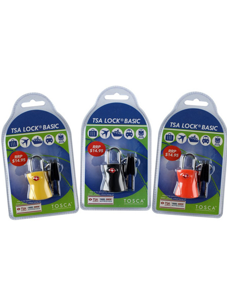 TSA Lock with Key TCA004