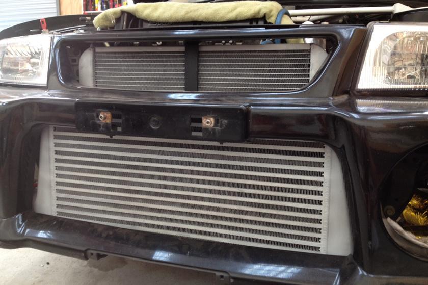 TSD Coated EVO-Radiator And Intercooler