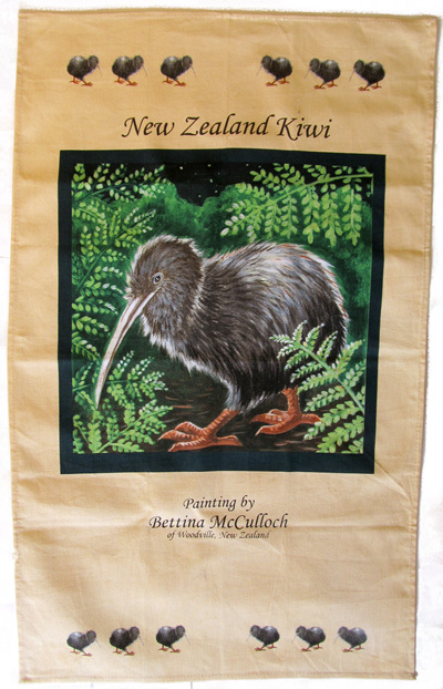 TT01 Tea Towel Kiwi