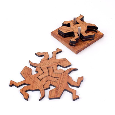 Tuatara Coasters in Stand