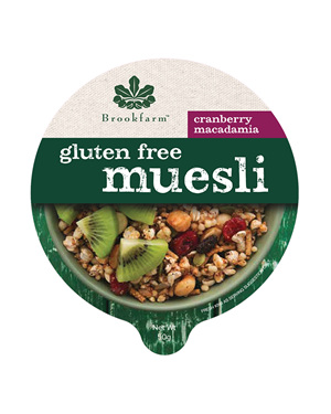 Tub Gluten Free Muesli with Cranberry - 50g