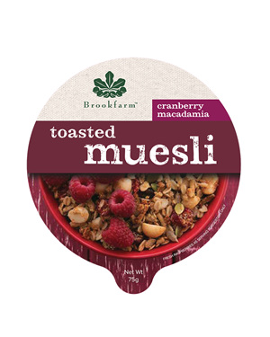Tub Toasted Muesli with Cranberry - 75g