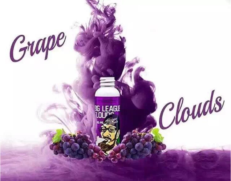 TUGBOAT CEASE AND DESIST GRAPE CLOUDS E-LIQUID 60ML 3mg