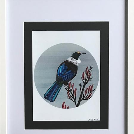 Tui Circle Print in Frame