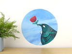 Tui loves... wall decal medium