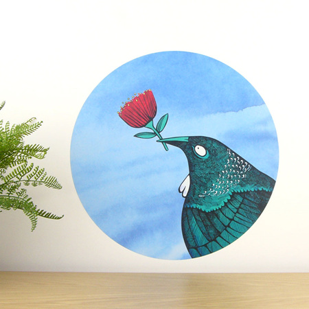 Tui Loves... wall decal