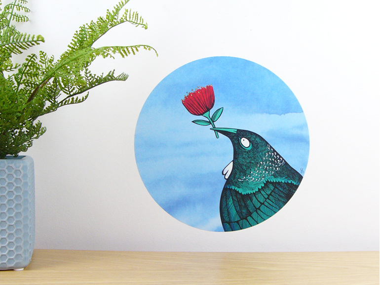 Tui loves wall decal