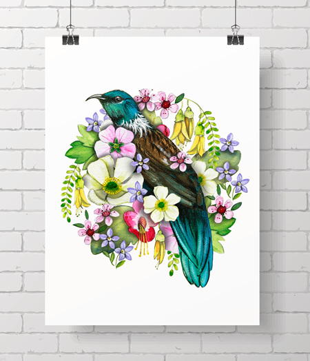 Tui - NZ flora limited edition