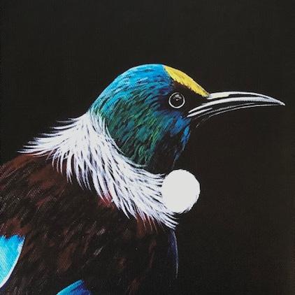 Tui Print on Canvas