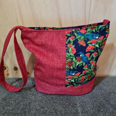Tui Red Bucket Bag