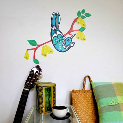 Tui wall decal