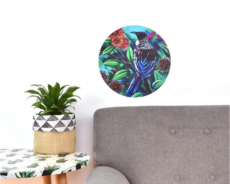 Tui wall art - medium wall decal dot
