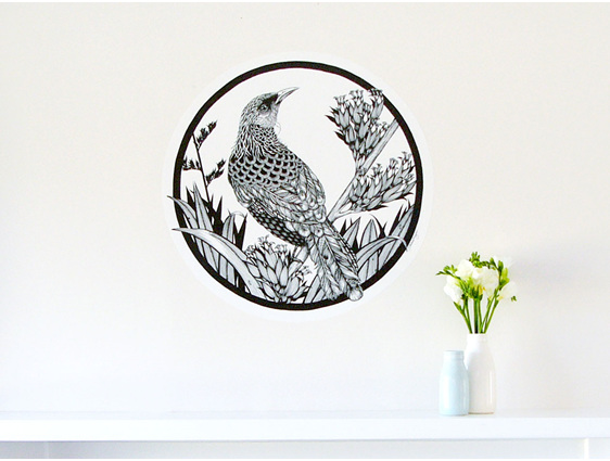 Tui wall decal dot