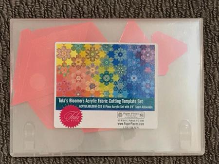Tula Bloomers Acrylic Templates