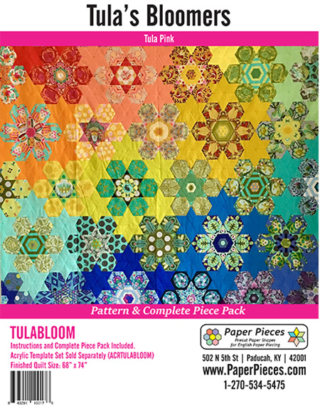Tula Bloomers English Paper Piecing Kit