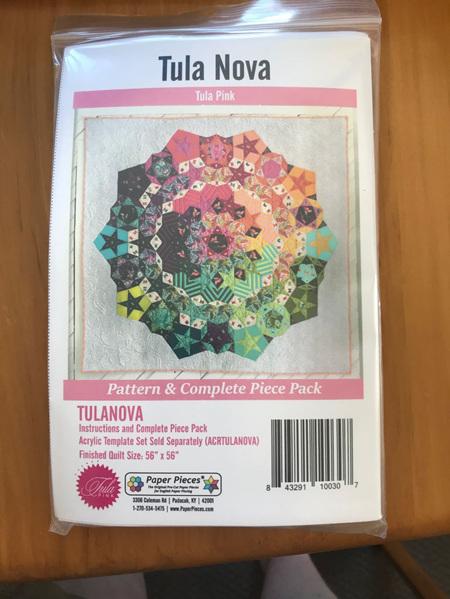 Tula Nova English Paper Piece Pack