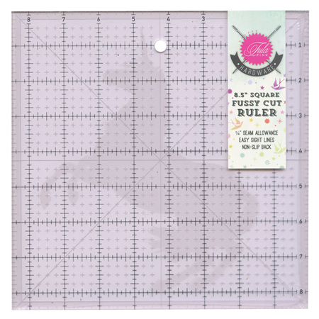 "Tula Pink 8.5"" Square Ruler with Unicorn"