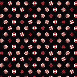 Tula Pink Holiday Homies PWTP108 Peppermint Stars