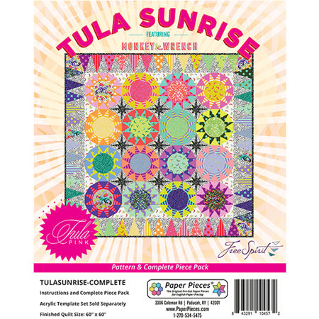 Tula Sunrise Pattern and Paper Piece Pack