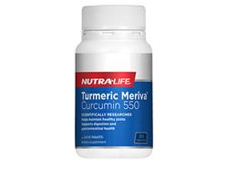 Tumeric Meriva Curcumin 550mg - 30 Caps