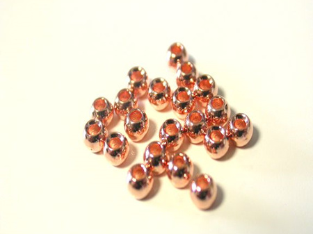 Tungsten Beads - Copper