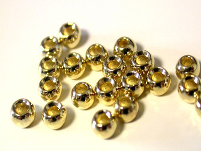 Tungsten Beads - Gold