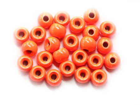 Tungsten Beads - Orange 2mm