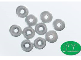 Tungsten Beads - White