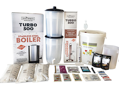 Turbo 500 Complete Distillery