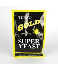 Turbo Gold Super Yeast
