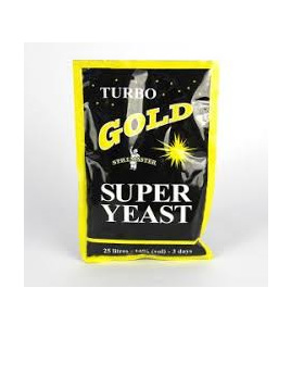 Turbo Gold Super Yeast