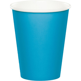 Turquoise cups 24 pack