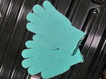 Turquoise Kids Gloves