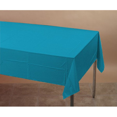 Turquoise tablecover