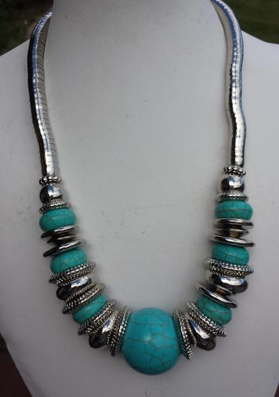 Turquoise Tibetan Necklace