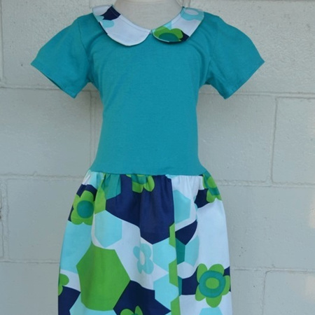 Turquoise Wendy Dress Size 5