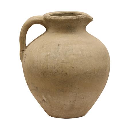 Tuscan style stone jug