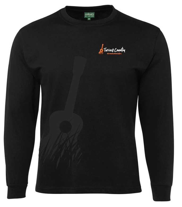 Tussock Country Unisex Long Sleeve T Shirts