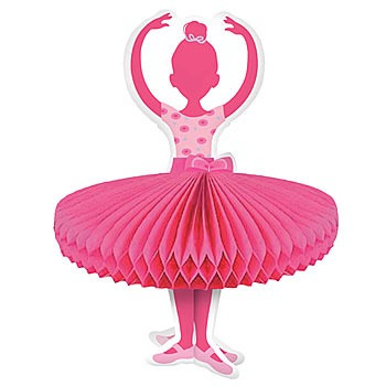 Tutu Much Fun Ballerina - Centrepiece