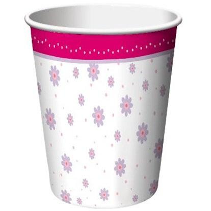 Tutu Much Fun Ballerina Party Cups x 8