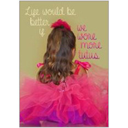 Tutus Fridge Magnet