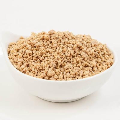 TVP mince granules per gram