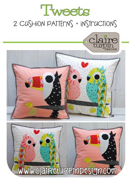 Tweets  Cushion Pattern