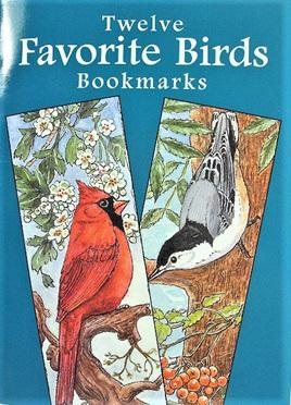 Twelve Favourite Birds Bookmarks