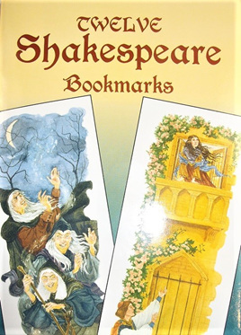 Twelve Shakespeare Bookmarks