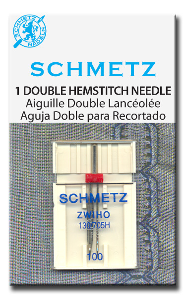 Twin Needle - Hemstitch/Wing