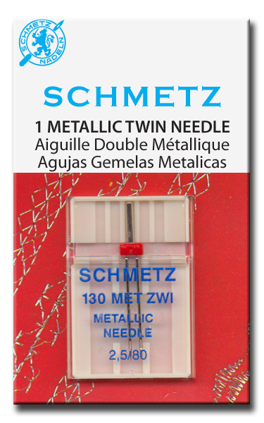Twin Needle Metallic