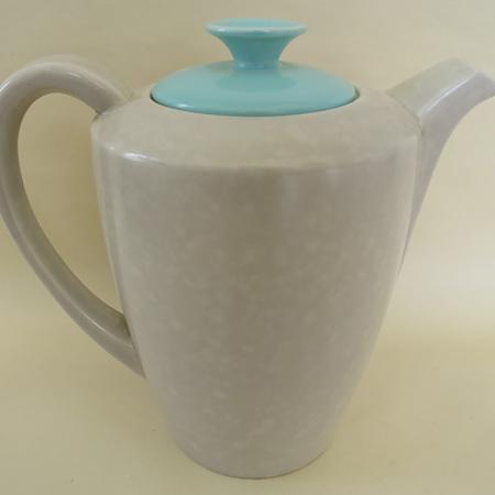 Twin tone coffee pot