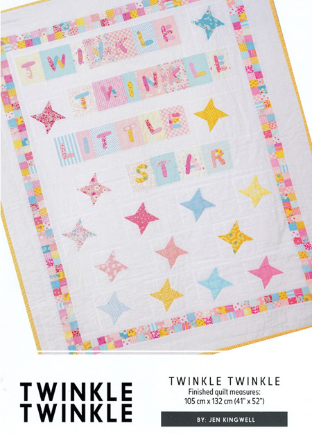 Twinkle Twinkle Quilt Pattern from Jen Kingwell Designs